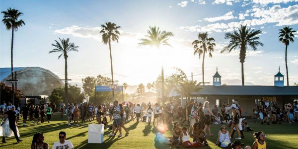 Security workers at Coachella reportedly endure bare-bones conditions, sleep on the grass, and often go without food