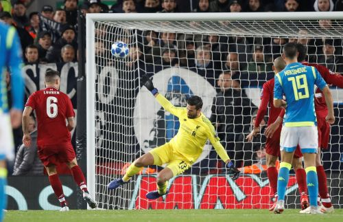 Alisson, the former most expensive goalkeeper ever, pulled off a last-gasp save worth $10 million
