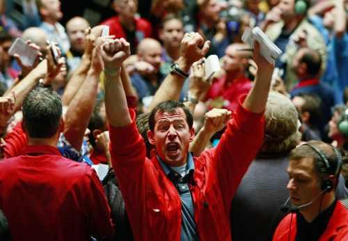 A possible stock-market crash is starting to freak out investors -and that might mean it's time to buy