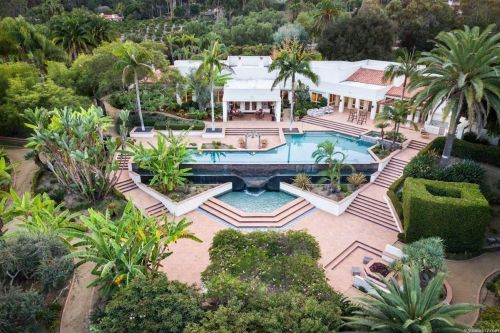 See inside the late Taco Bell founder's luxurious California estate, which has 2 swimming pools, a massive chef's kitchen, and stunning views
