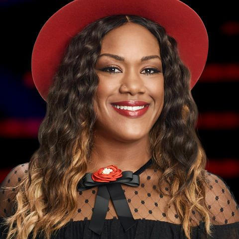 Keisha Renee Sings Gladys Knight's 'Midnight Train To Georgia' For Her Mom The Voice Live Playoffs