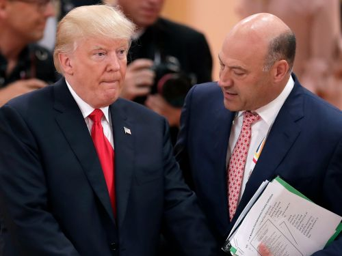 Gary Cohn reportedly kept the jobs report away from Trump out of concern he would break protocol and comment on them early