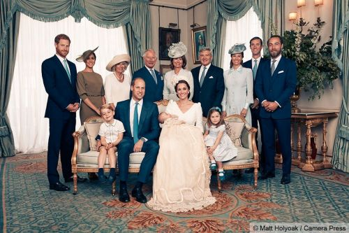 Prince Louis' official christening photos have been released - and the young royals steal the show yet again