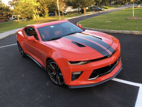 I drove a $52,000 Chevy Camaro SS to see if the legendary muscle car could live up to its reputation - here's the verdict