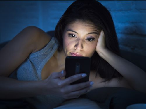 Blue light emitted from smartphones and laptops accelerates blindness by making a molecule in our eyes toxic, according to a new study