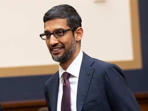 Google's CEO explains why a picture of Donald Trump comes up when you image search for 'idiot'