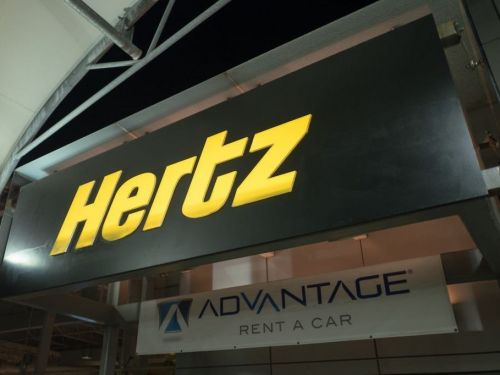 A car-rental company previously owned by Hertz just filed for bankruptcy for the third time since 2008