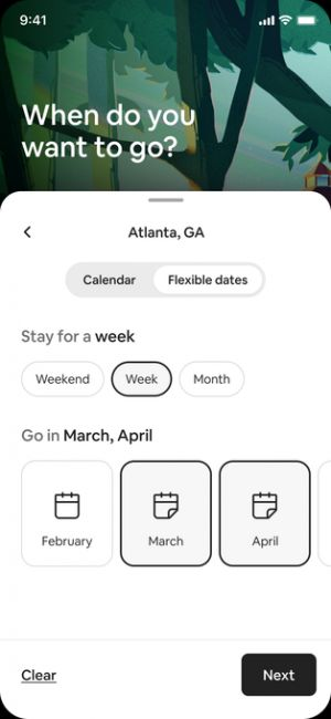 Airbnb plans for a new kind of travel post-COVID with flexible search