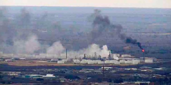 Multiple injuries reported after explosion rocks Wisconsin oil refinery
