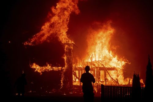 A raging wildfire has burned the town of Paradise, California to the ground