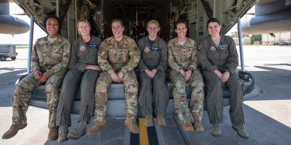 Meet the first all-woman aircrew of the Air Force's 'Combat King'