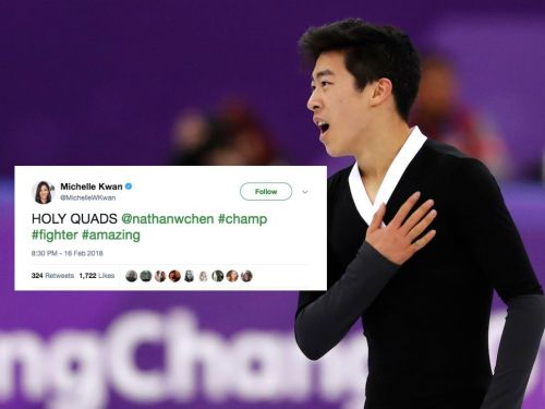 Former Olympic figure skaters can't stop gushing about Nathan Chen's unprecedented six-quad routine in Pyeongchang