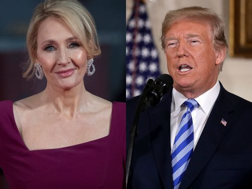 JK Rowling trolled President Donald Trump by rewriting his latest Twitter rant - and people loved it