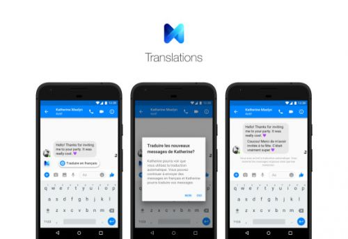 Facebook Messenger assistant M can now translate French