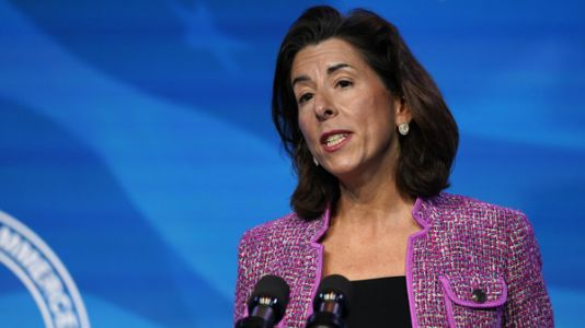 Biden's Commerce Secretary, Gina Raimondo, Confirmed By Senate
