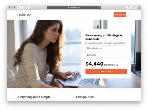 Newsletter platform Substack raises $15.3M round led by A16Z