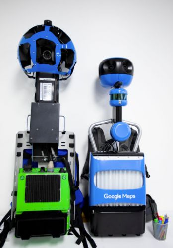 Here's Google's new Street View Trekker backpack