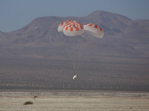 'It failed': NASA says SpaceX and Boeing's recent spaceship parachute tests did not go well