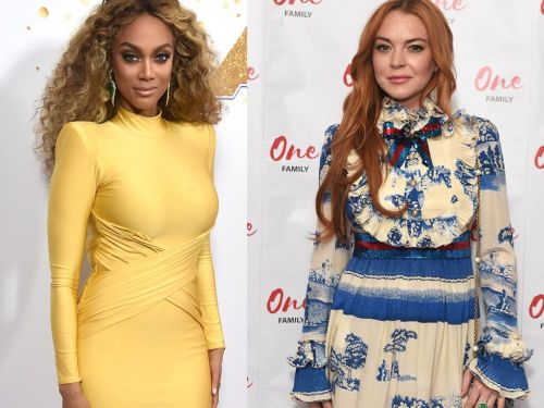Tyra Banks just confirmed that Lindsay Lohan will appear - somehow - in 'Life-Size 2'