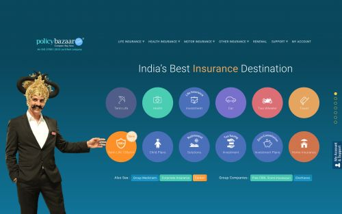 India's PolicyBazaar raises $200M led by SoftBank's Vision Fund