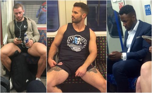 A website which shares secret snaps of men on the London Underground has showed scientists which physical traits women and gay men find most attractive