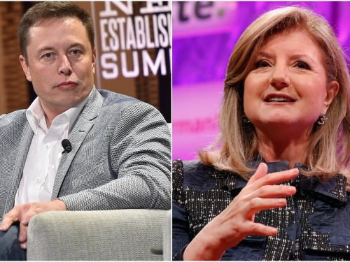 Elon Musk snapped back at Arianna Huffington's advice to get some more sleep in tweet he sent at 2.30 a.m