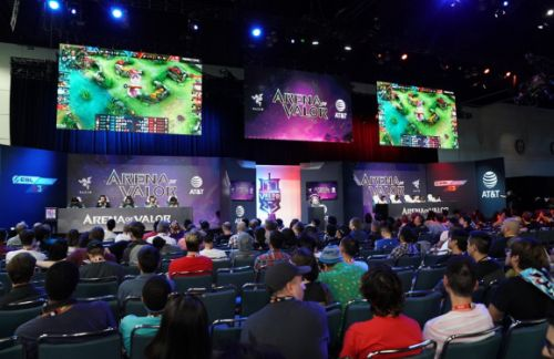 Tencent drums up an audience for its mobile esports game in the west