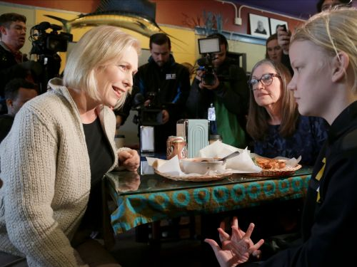 Kirsten Gillibrand broke down what her 'Abolish ICE' proposal would look like during a campaign visit to Iowa