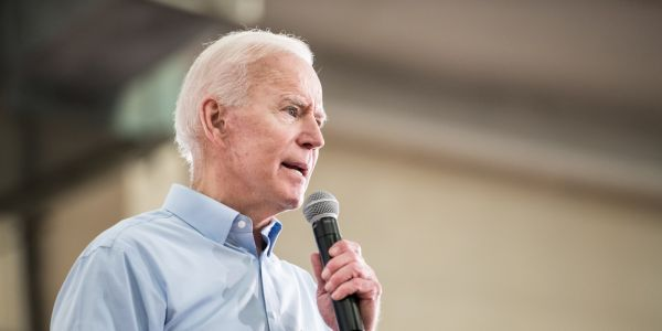 Joe Biden met a 13-year-old girl before a campaign event and told her brothers to 'keep the guys away from her'