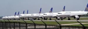 United Airlines warns 36,000 workers they could be laid off