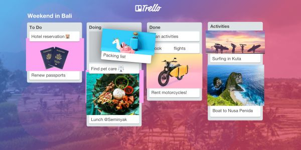 It's A $5K Giveaway For Your Dream Getaway: Travel With Trello