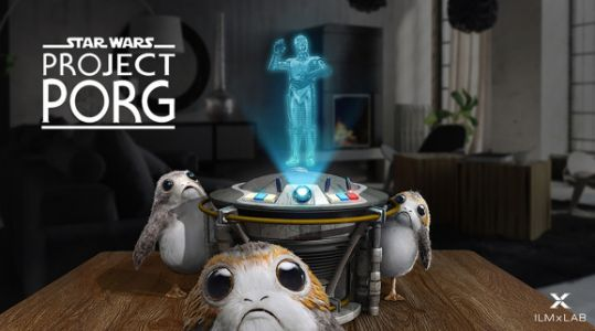 ILMxLAB launches Star Wars: Project Porg on Magic Leap One
