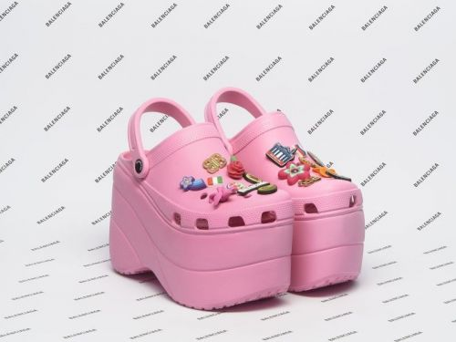 These $850 platform crocs are officially one of 2018's 'hottest' trends - and people have a lot of questions