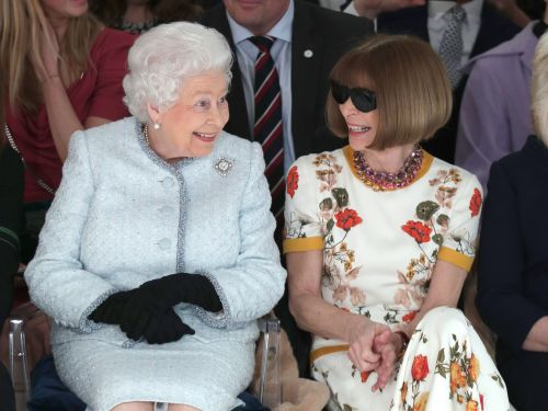 People are furious that Anna Wintour didn't take her sunglasses off for the Queen - here's the real reason she always wears them