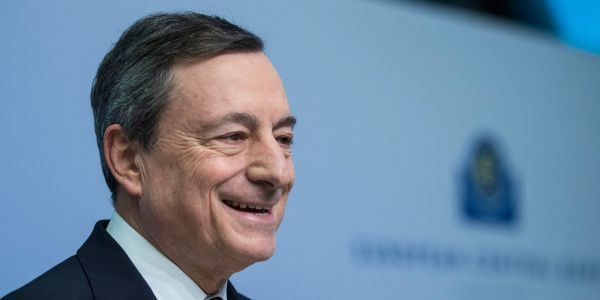 Italian markets cheer as former ECB chief 'Super' Mario Draghi is tapped to become prime minister - with stocks soaring and bond yields falling