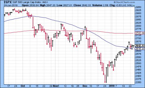 CWS Market Review - January 25, 2019