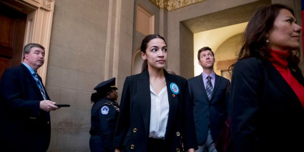 Alexandria Ocasio-Cortez got a seat on a second House committee, which has Trump and Russia in its sights