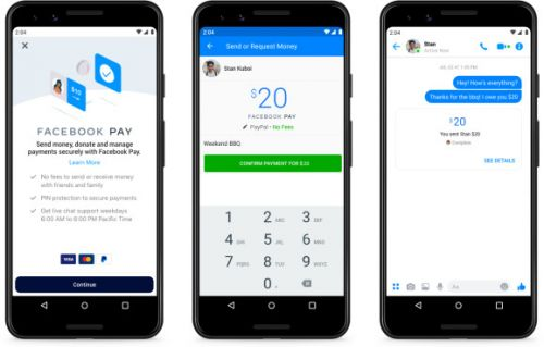 Facebook Pay unites payment service across Facebook's apps
