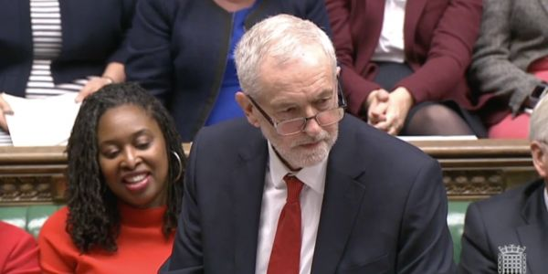 Jeremy Corbyn angrily tears into Tory MP for allegedly joking he should be 'in a care home'