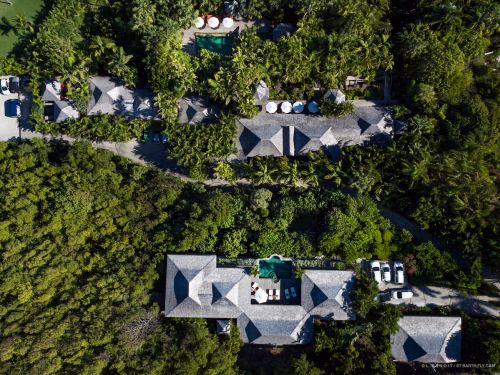 A retired hedge fund manager has sold his 2-in-1 St. Barts estate that was listed for $67 million - take a look inside