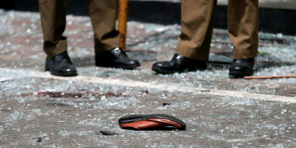 Harrowing photos show devastating aftermath of Sri Lanka Easter bombing attacks