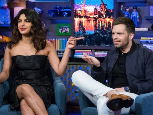 Andy Cohen says he tried to set up Priyanka Chopra and Sebastian Stan, but she was already secretly dating Nick Jonas