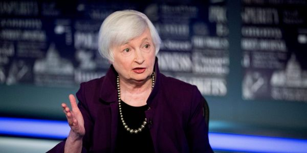 US stocks gain after Treasury Secretary Yellen pushes for more stimulus