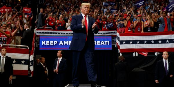 Trump raised over $1 million per hour on the day of his re-election campaign kickoff, blowing Democrats' fundraising out of the water