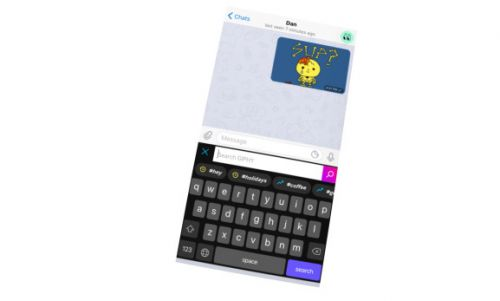 Giphy for iOS gets keyboard integration and sticker maker, reveals TapSlash acquisition from early 2018