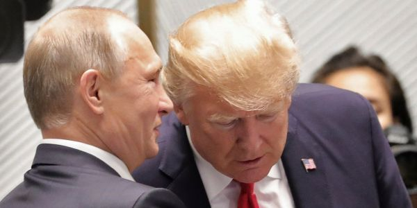 Trump has reportedly halted new sanctions against Russia