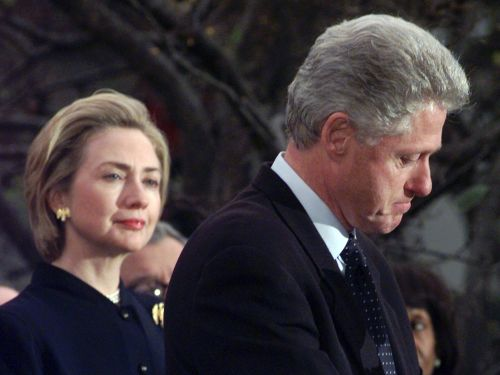 Bill Clinton was impeached 20 years ago. What was going on in Washington, D.C., that day?