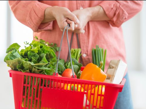 Why you should be using a basket instead of a cart while grocery shopping