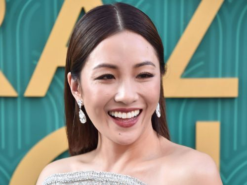 Constance Wu turned heads in a stunning dress made by the same designer who made Meghan Markle's engagement gown