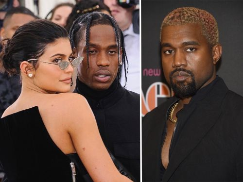 Kylie Jenner defended Travis Scott after he was criticized for being 'petty' towards Kanye West